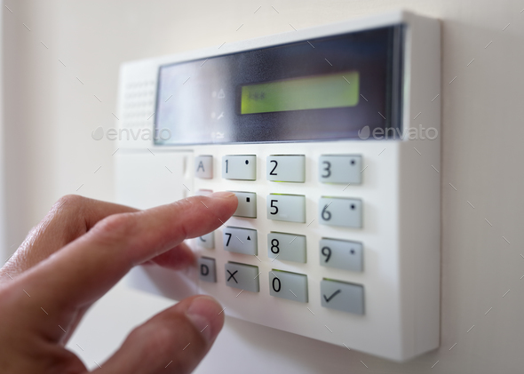 Home or office security - Stock Photo - Images