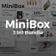 3 in 1 MiniBox Bundle Google Slide Template