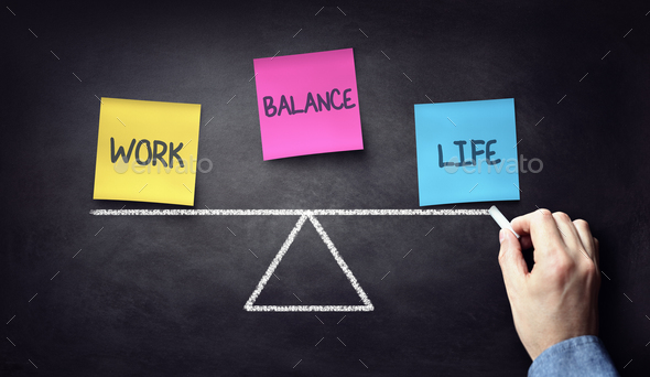 Work life balance - Stock Photo - Images