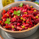 Beet Salad - Vinaigrette. Vegan cuisine. Dietary menu. - PhotoDune Item for Sale