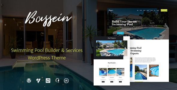 Bassein | Swimming Pool Service WordPress Theme