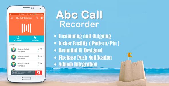 CodeCanyon Abc Call Recorder 21268435