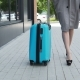 Young Business Woman Walking with Baggage - VideoHive Item for Sale