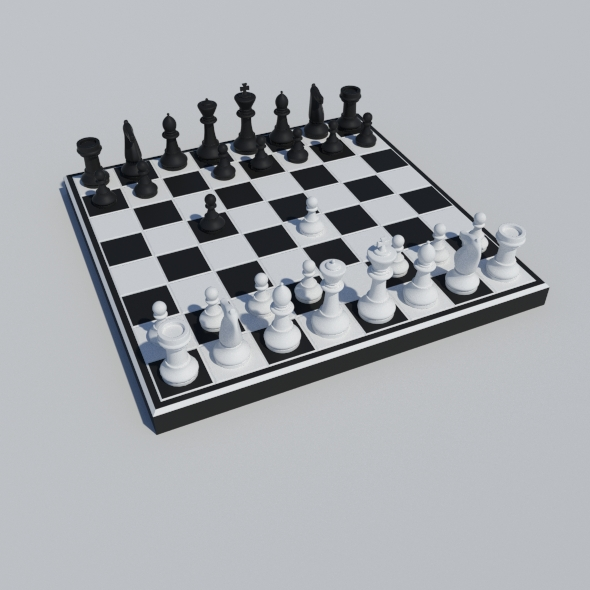 Classic Chess - 3DOcean Item for Sale