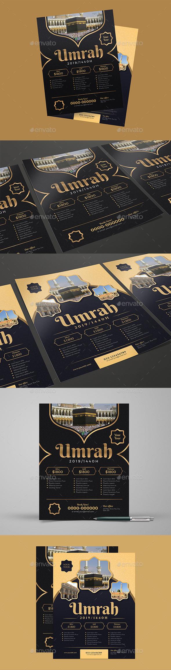 Umrah/Hajj Flyer - Commerce Flyers