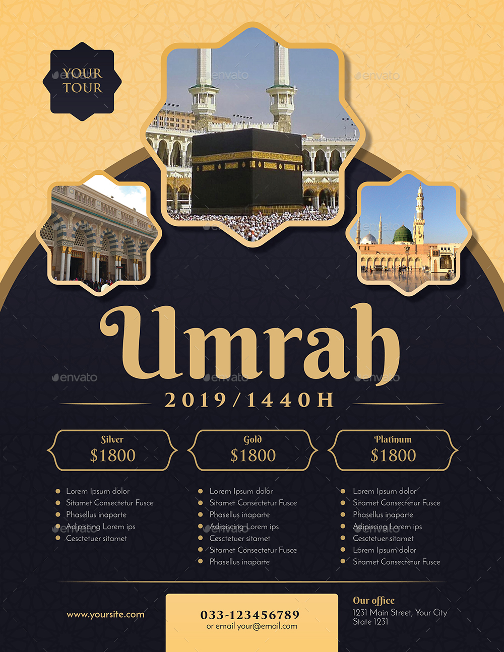 Umrah/Hajj Flyer By Guuver