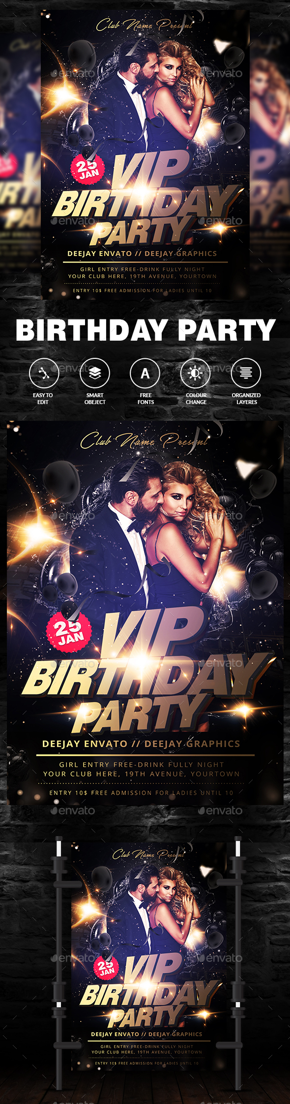 Vip Birthday Party - Clubs & Parties Events