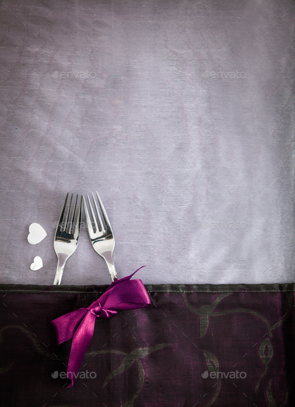 Valentines table setting - Stock Photo - Images