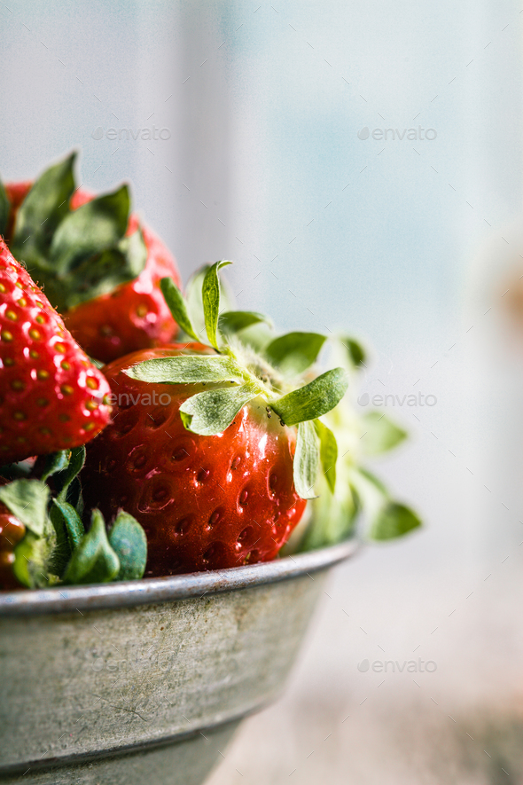 Strawberries - Stock Photo - Images