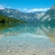 Bohinj Lake in the Alps in Slovenia - VideoHive Item for Sale