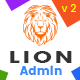 Lion - Responsive Bootstrap 4 Admin Dashboard Template, UI and WebApp Template