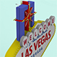 Las Vegas Sign - 3DOcean Item for Sale