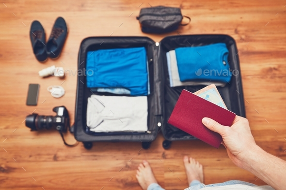 Preparing for the trip - Stock Photo - Images