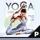Yoga Flyer and Poster Template - GraphicRiver Item for Sale