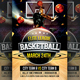Elite Basketball Flyer Template