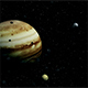Jupiter with Satellites Io and Europa - VideoHive Item for Sale