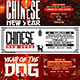 Chinese New Year Facebook Cover Bundle - GraphicRiver Item for Sale