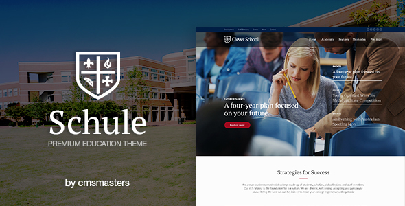 Schule - School & Education Theme - Education WordPress