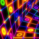 Glowing Grid Tunnel - VideoHive Item for Sale