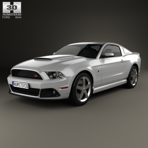 Ford Mustang Roush Stage 3 2013 - 3DOcean Item for Sale
