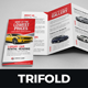 Luxury Car Sale Rental Trifold Brochure - GraphicRiver Item for Sale