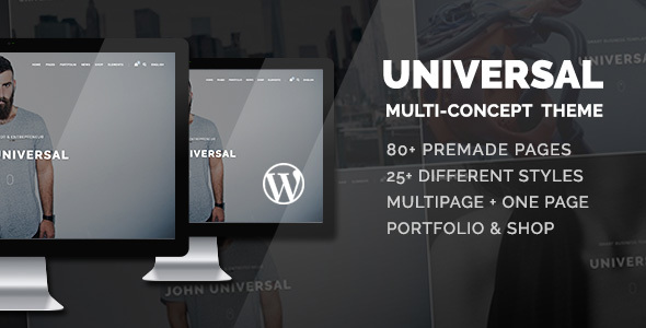 Universal - Smart Multi-Purpose WordPress Theme - Business Corporate