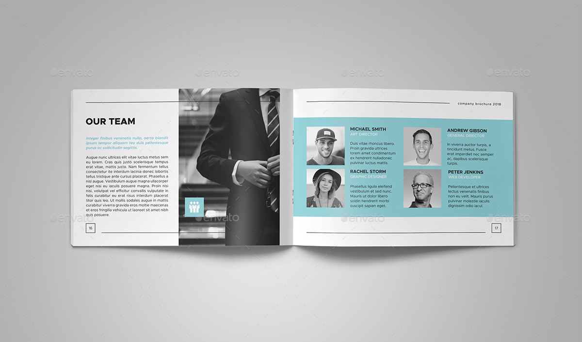 company brochure by be cool graphicriver