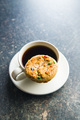 Sweet cookies with colorful candies and coffee mug. - PhotoDune Item for Sale