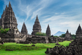 Prambanan lHindu temple ruins. Java, Indonesia.  - PhotoDune Item for Sale