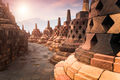 Ancient Borobudur Buddhist temple. Java, Indonesia - PhotoDune Item for Sale