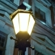 Night Winter Street Lamp - VideoHive Item for Sale