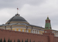 Kremlin Moscow Dome of Senate building Russian Flag tower - PhotoDune Item for Sale
