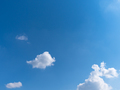 Beautiful blue sky with bright white clouds - PhotoDune Item for Sale