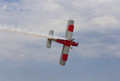 Aircraft AN-2 in a turn against the sky with clouds - PhotoDune Item for Sale