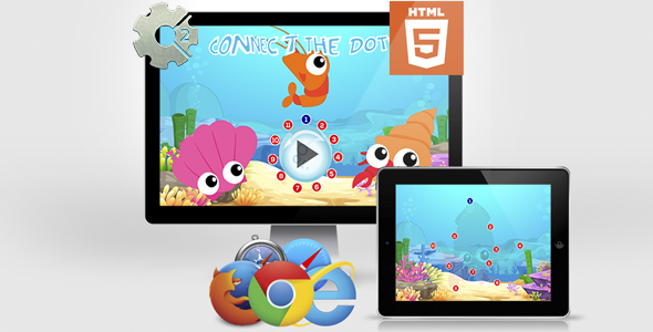 CodeCanyon Connect The Dots Educational HTML5 Game 21271449