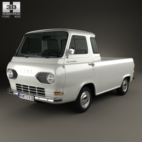 Ford E-Series Econoline Pickup 1963 - 3DOcean Item for Sale