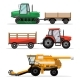 Heavy Agricultural Machinery for Field Work - GraphicRiver Item for Sale