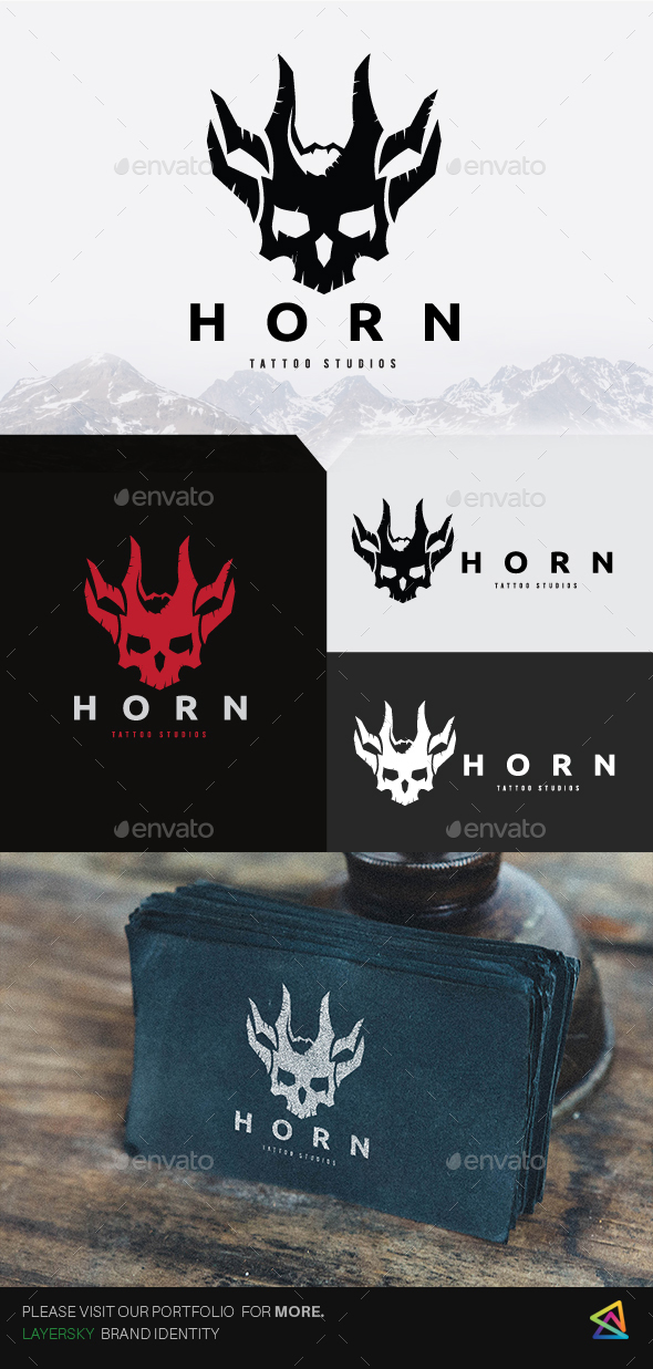 Horn Logo - Humans Logo Templates
