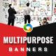 Multipurpose Banner Set - GraphicRiver Item for Sale