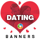 Dating Banner Set