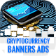 Cryptocurrency Banners Ad - GraphicRiver Item for Sale