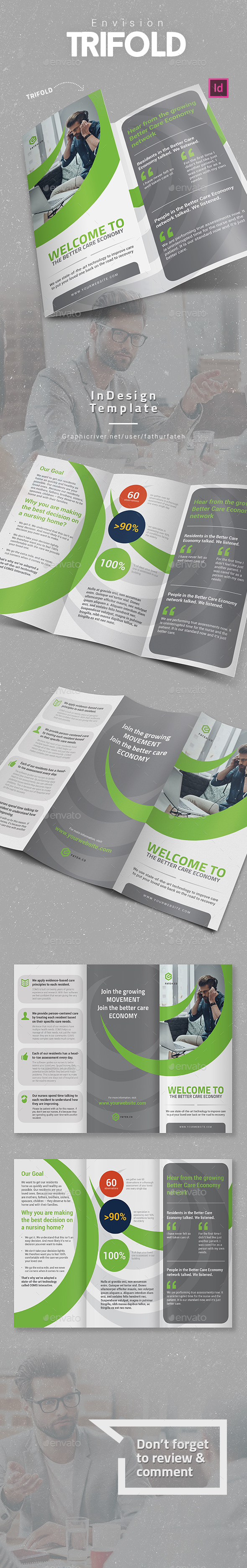 Slash Trifold - Corporate Brochures