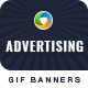 Advertising Animated GIF Banner Set
