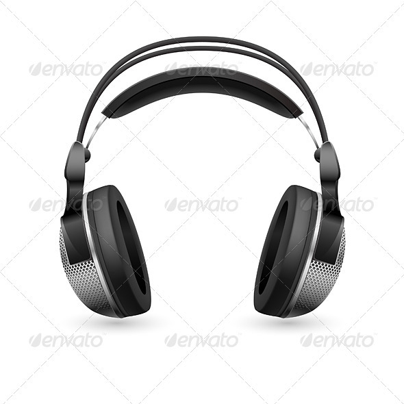 Realistic computer headset - Miscellaneous Characters