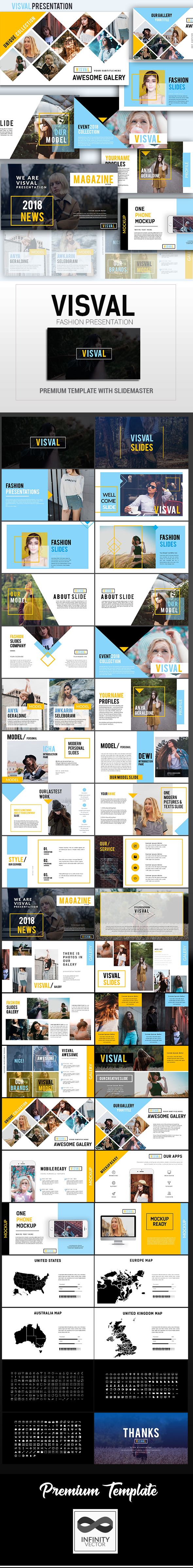 Visval Fashion Presentation Keynote - Keynote Templates Presentation Templates