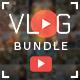 Vlog Bundle - 20 Creative YouTube Vlog Banners
