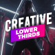 Creative Lower Thirds - VideoHive Item for Sale