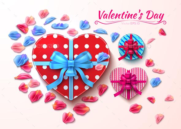 Valentine Day Gift Boxes - Valentines Seasons/Holidays