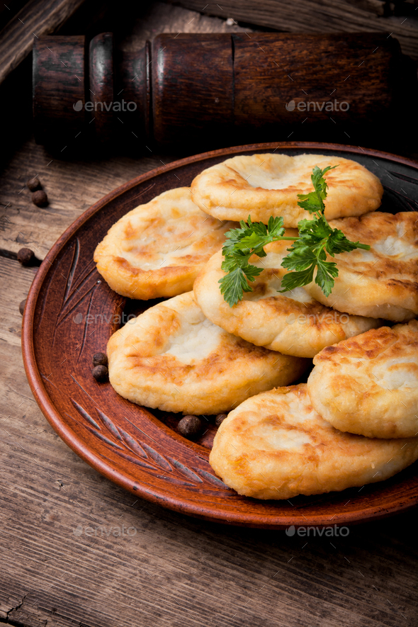 ukrainian potato zrazy - Stock Photo - Images