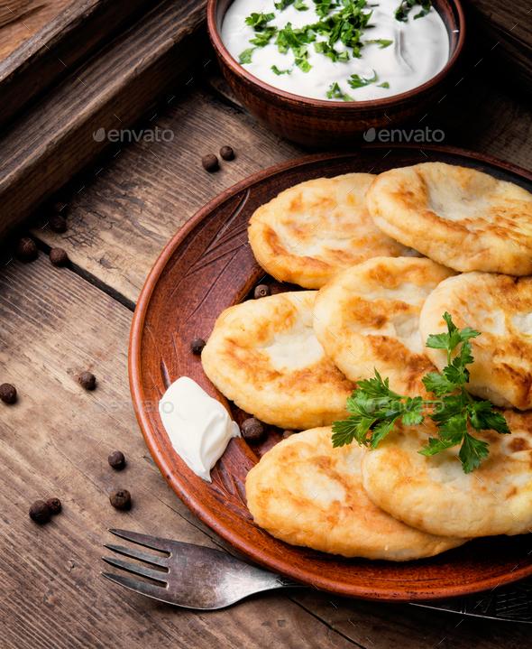 ukrainian potato zrazy - Stock Photo - Images